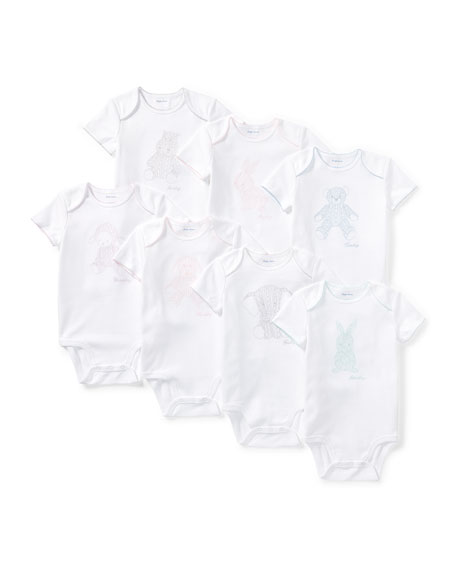 Ralph Lauren Childrenswear Day of the Week Bodysuit