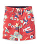 Image 1 of 2: Sanibel Tropical Board Shorts, Size 2-4T