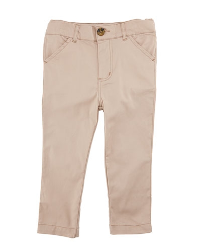 Twill Straight-Leg Pants, Size 3-24 Months and Matching Items