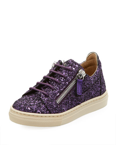 Old Glitter Low-Top Sneaker, Toddler/Kid