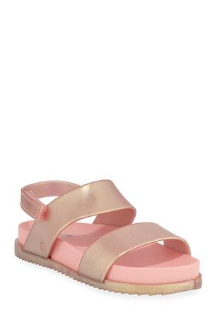 Mini Melissa Cosmic Glittered Sandal, Baby/Toddler