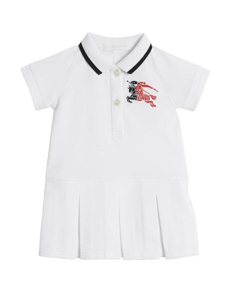 Molly Anna Logo Polo Dress, Size 6M-3
