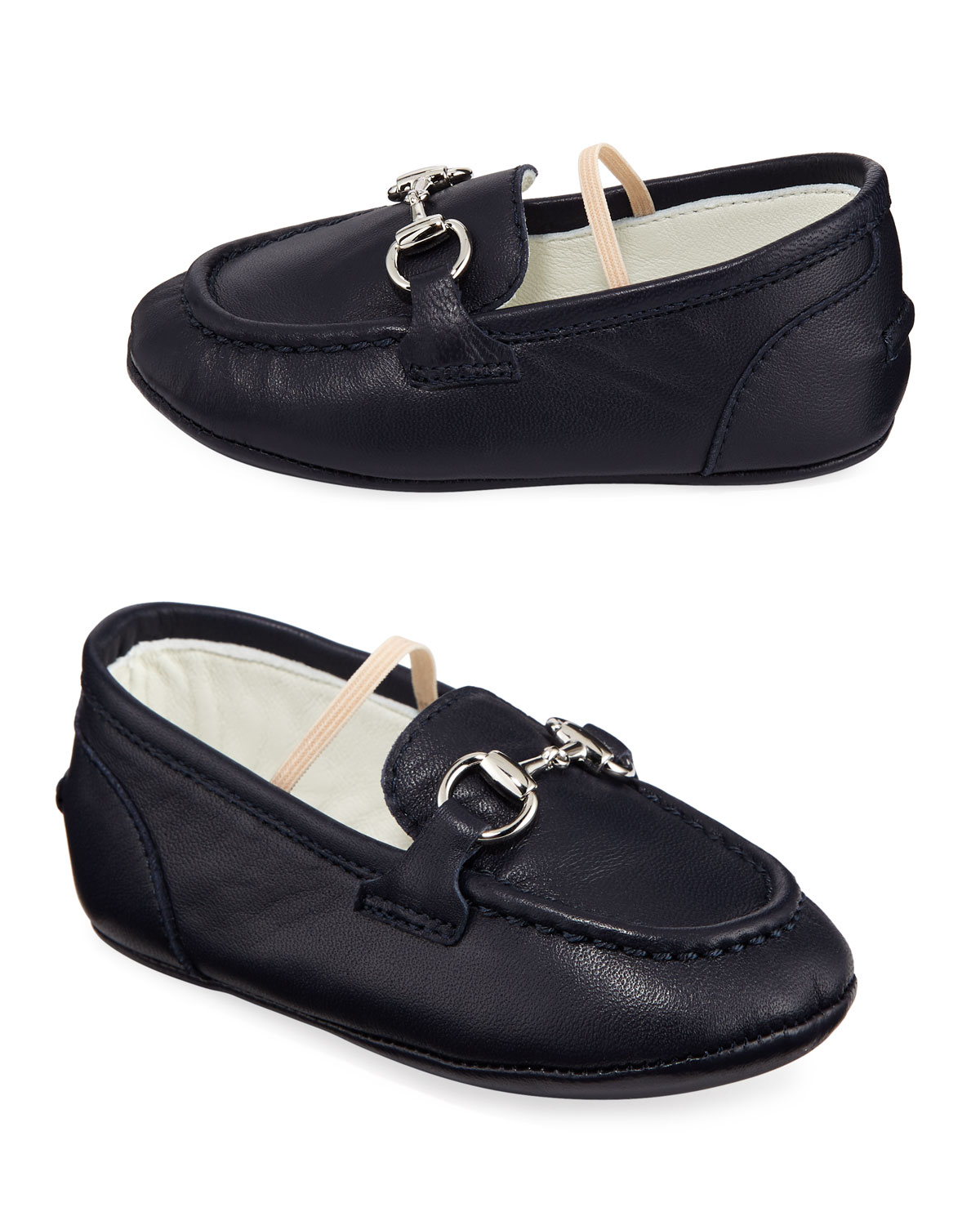447dc8b98847 Gucci Jordaan Leather Loafers
