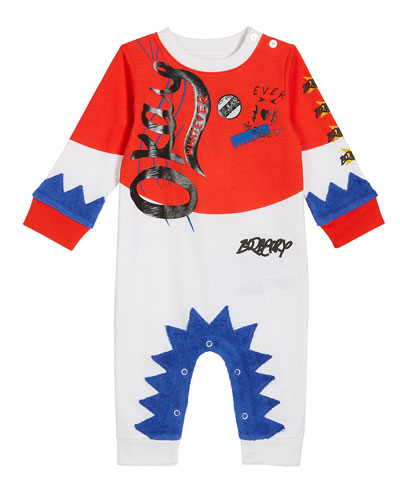 Okay Smile Graphic Coverall, Size 3-18 Months