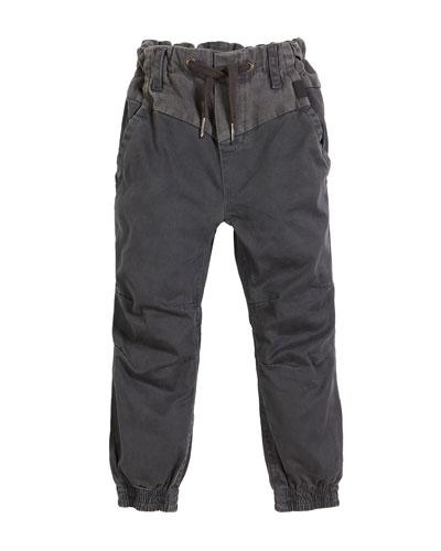 Arctic Drawstring Woven Pants, Size 4-12