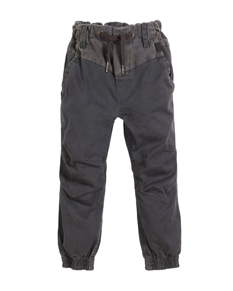Molo Arctic Drawstring Woven Pants, Size 4-12