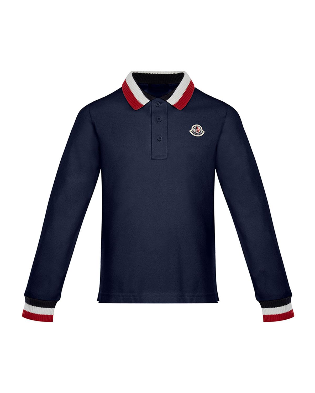 0f9aeae31 Moncler Maglia Long-Sleeve Polo Shirt