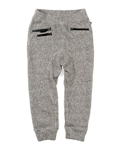 Parket Sweatpants w/ Zip Pockets, Size 2-10