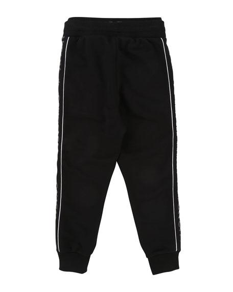 Jogging Pants w/ Logo Sides, Size 4-5