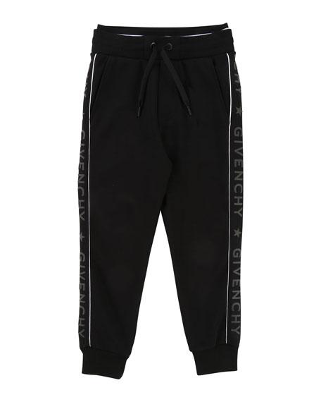 Jogging Pants w/ Logo Sides, Size 6-10