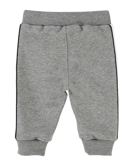 Sweatpants w/ Logo Sides, Size 2-3