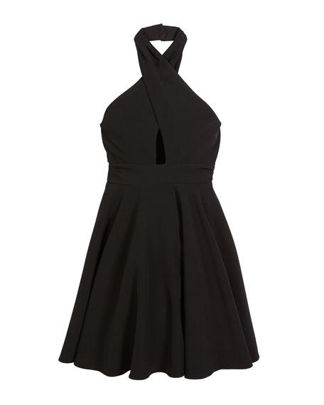 Milly Minis Sydney Halter Dress, Size 8-16