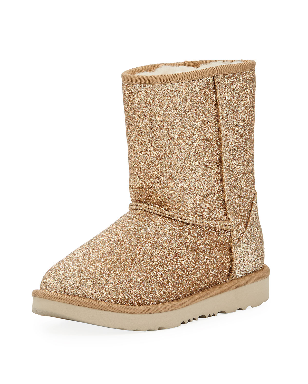 233eb7bd148 Classic Short II Glitter Boot, Kids