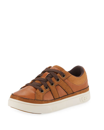 Marcus Faux-Leather & Suede Sneakers  Kids