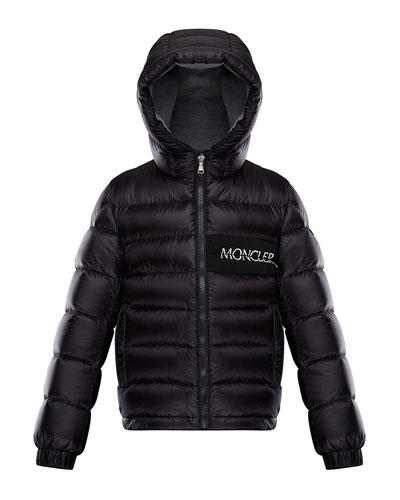 Aiton Hooded Quilted Jacket, Size 4-6