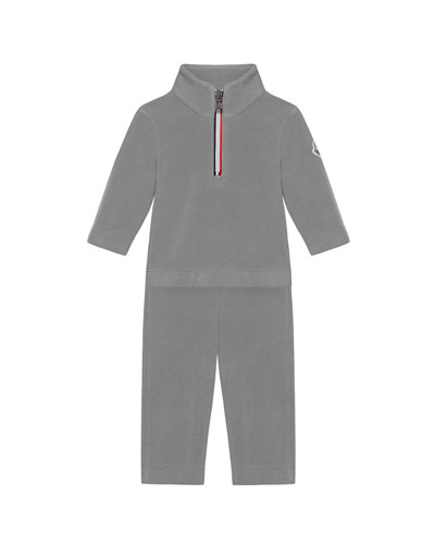 Half-Zip Pullover w/ Matching Sweatpants  Size 6M-3