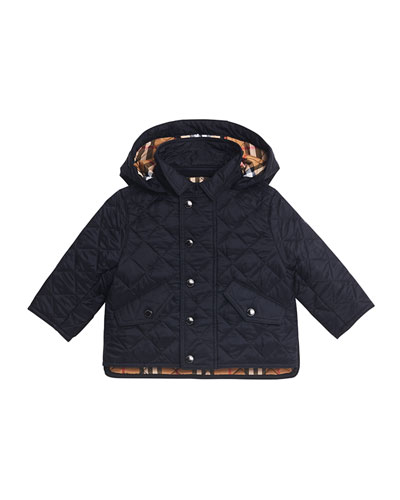 Ilana Quilted Hooded Jacket  Size 12M-3