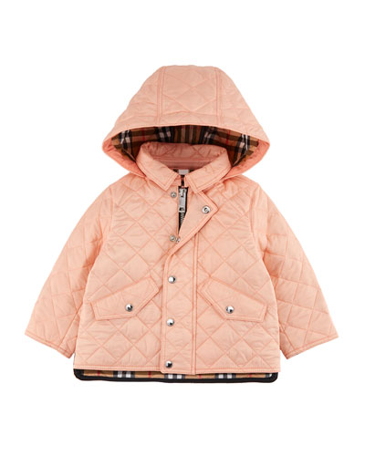 Ilana Quilted Hooded Coat  Size 12M-3