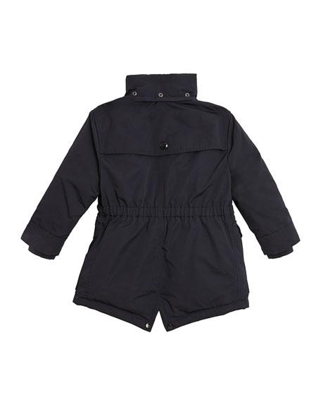 Burberry Finlay Utility Jacket w/ Faux Fur Lining, Size 4-14