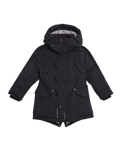 Finlay Utility Jacket w/ Faux Fur Lining  Size 4-14