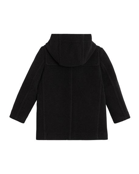 Burberry Burford Virgin Wool Peacoat, Size 4-14