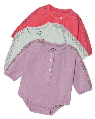 Berta 3-Piece Bodysuit Layette Set, Size 3-12 Months