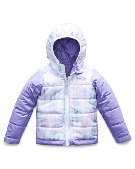 The North Face Perrito Reversible Hooded Taffeta Jacket, Size 2-4T