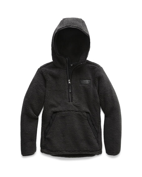 The North Face Campshire Sherpa Fleece Hooded Half-Zip Pullover, Size XXS-XL