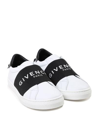 Two-Tone Logo Band Sneakers  Kids