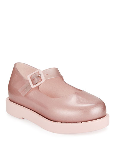 Maggie Shimmery Mary Jane Flats  Toddler