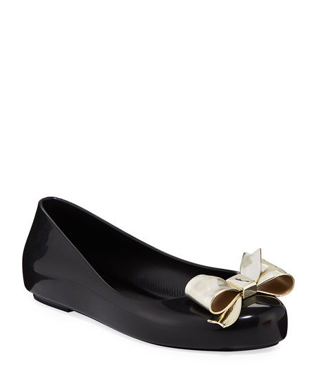 Mini Melissa Space Love II Ballet Flats, Kids