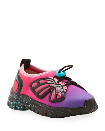 Fly-Bi Gradient Scuba Mesh Butterfly-Wing Sneakers, Toddler/Kids