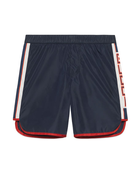 Gucci Athletic Shorts w/ Logo Sides, Size 4-12
