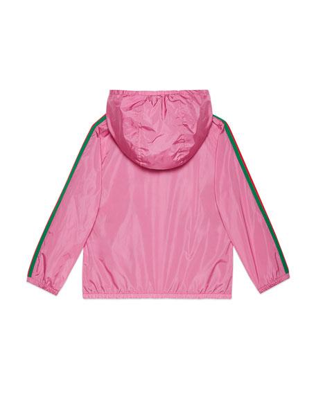 Gucci Parachute GG Jacket, Size 4-12