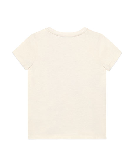 Gucci Allover Graphic T-Shirt, Size 4-10