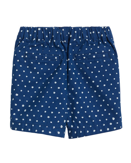 Burberry Mateo Spotted Print Shorts, Size 12M-2