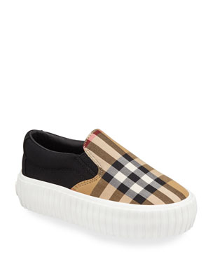 3eb834236670 Burberry Kids  Shoes   Sneakers   Sandals at Neiman Marcus