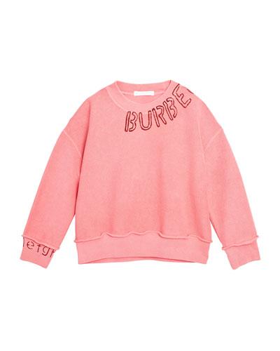 Rosalia Stencil Logo Sweater  Size 3-14