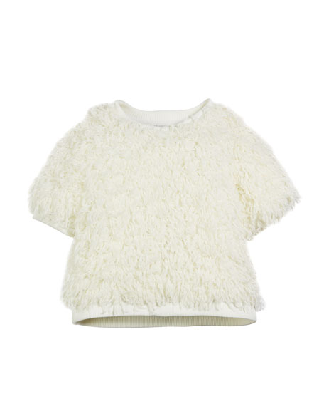 Milly Minis Sparkle Knit Confetti Popover, Size 7-16