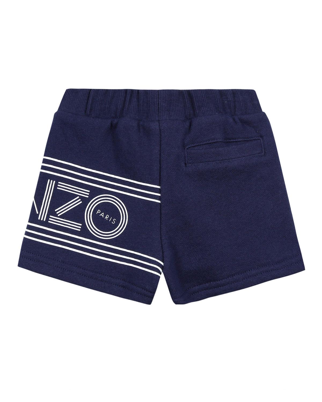 81252d07 Kenzo Fleece Logo Bermuda Shorts, Size 12-18 Months | Neiman Marcus