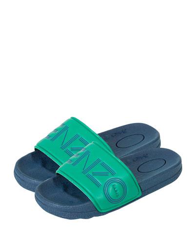 Logo Slide Sandals  Toddler/Kids