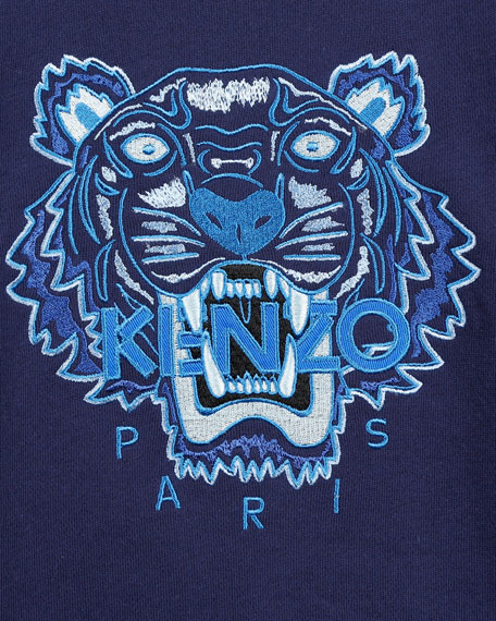Kenzo Signature Tiger Sweatshirt, Size 8-12