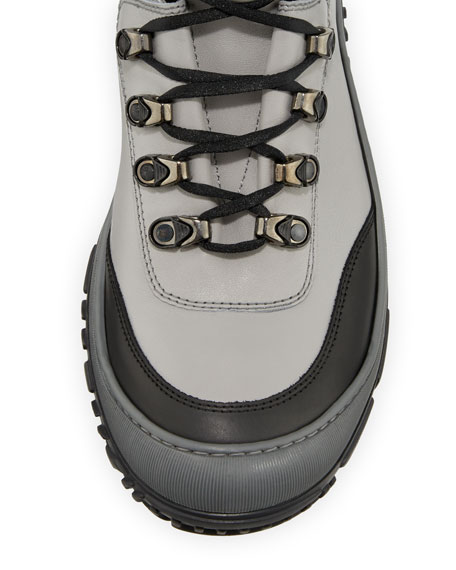 Image 3 of 4: Stefano Ricci Leather Ski Boots, Kids