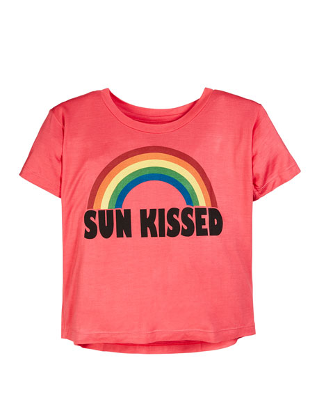 Flowers By Zoe Sun Kissed Rainbow Tee, Size S-XL