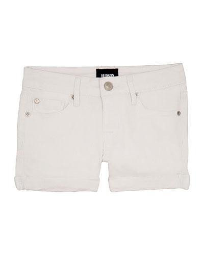 Girls' Bria Cuffed Shorts  Size 4-6X