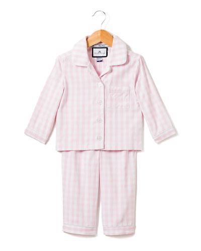 Gingham Pajama Set  Size 6M-14