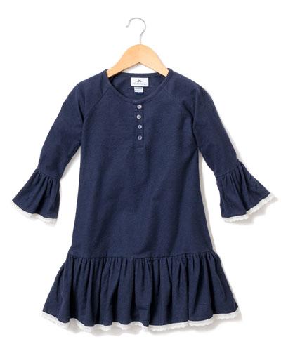 Arabella Lace-Trim Nightgown  Size 6M-14