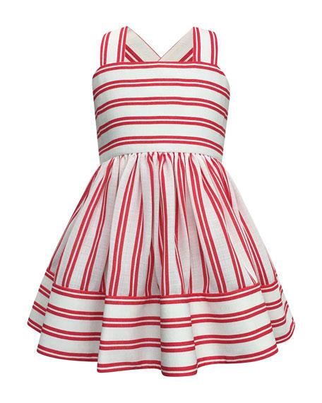 Helena Striped Sun Dress, Size 7-14