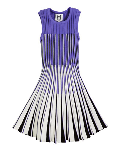 Ombre Flare Knit Dress  Size 7-16
