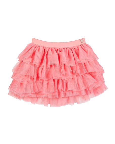 Mayoral Tiered Tulle Skirt, Size 12-36 Months